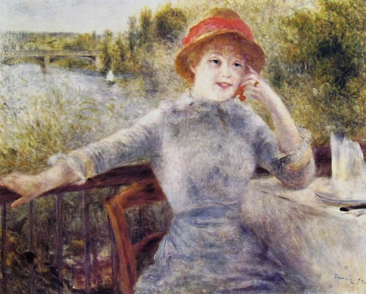 Renoir - Donna alla Grenouillere