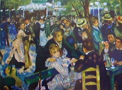 Renoir - Il Bal au Moulin de la Galette