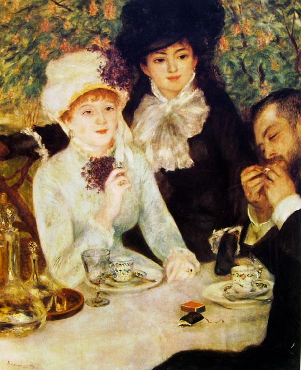 Renoir - Alla fine della colazione