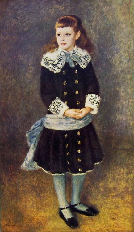 Bambina dalla cintura azzurra, 128 x 75, Museu de Arte, San Paulo