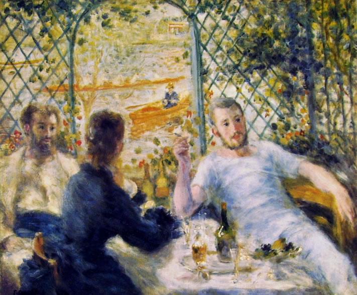 Renoir - La Colazione in riva al fiume