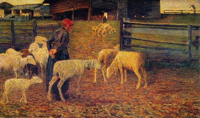 Giovanni Segantini: Ritorno all'ovile