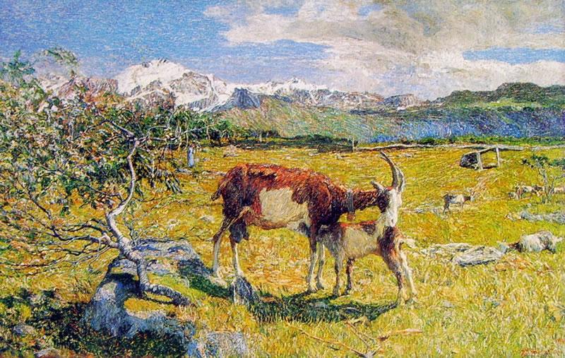 Giovanni Segantini: Alpe di Maggio