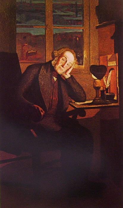 Giovanni Segantini: Ritratto di Carlo Rotta