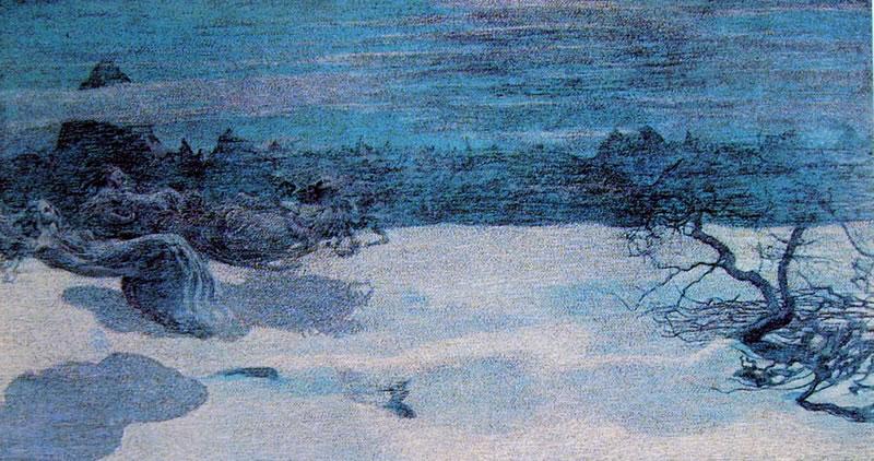 Giovanni Segantini: Il castigo delle lussuriose
