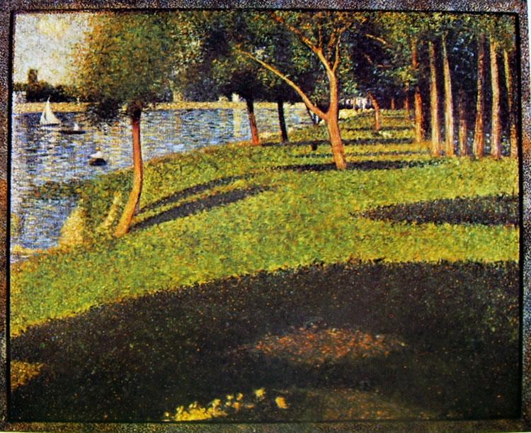 Georges-Pierre Seurat: Veduta alla grande Jatte