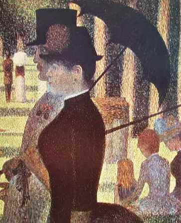 26 Georges Seurat - Particolare della grande jatte