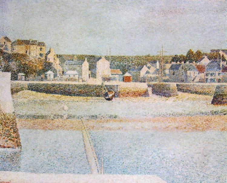 Georges-Pierre Seurat: Il porto di Port-en-Bessin in bassa marea
