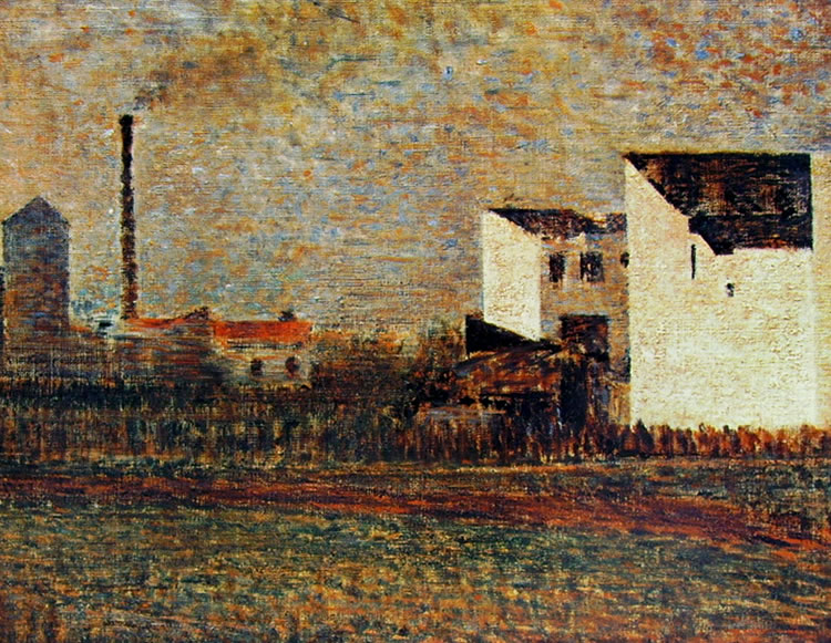 Georges-Pierre Seurat: Case in periferia