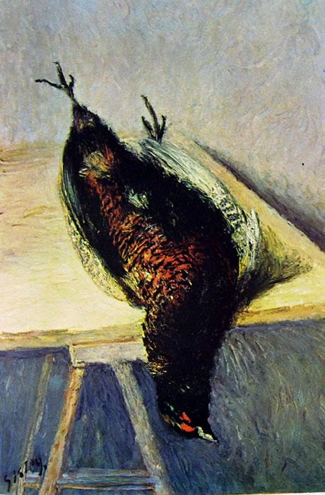Il fagiano di Alfred Sisley