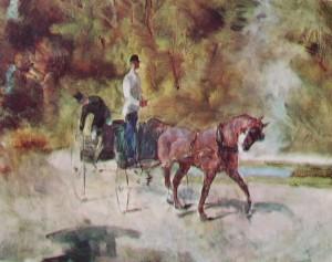 Toulouse-Lautrec: Il calesse