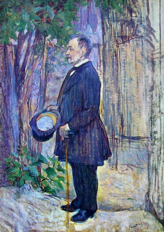 Ritratto di Henri Dihau in piedi