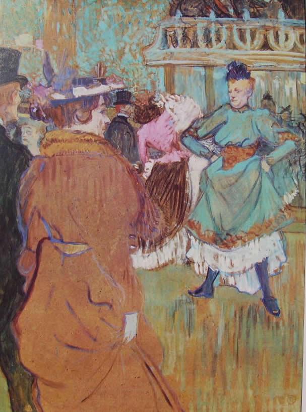Toulouse-Lautrec: L'inizio della quadriglia