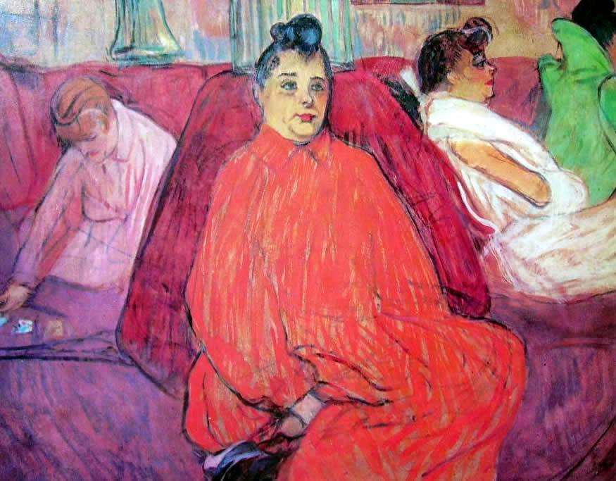 Toulouse-Lautrec: Il divano