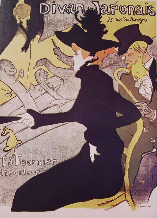 Toulouse-Lautrec: Divan Japonais