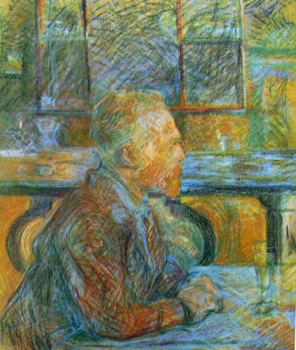 Ritratto di Van Gogh di Toulouse-Lautrec