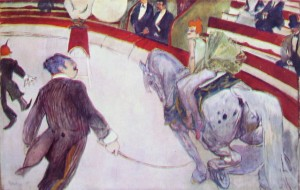 Al circo Fernando – Cavallerizza, cm. 161,3, Art Institute, Chicago