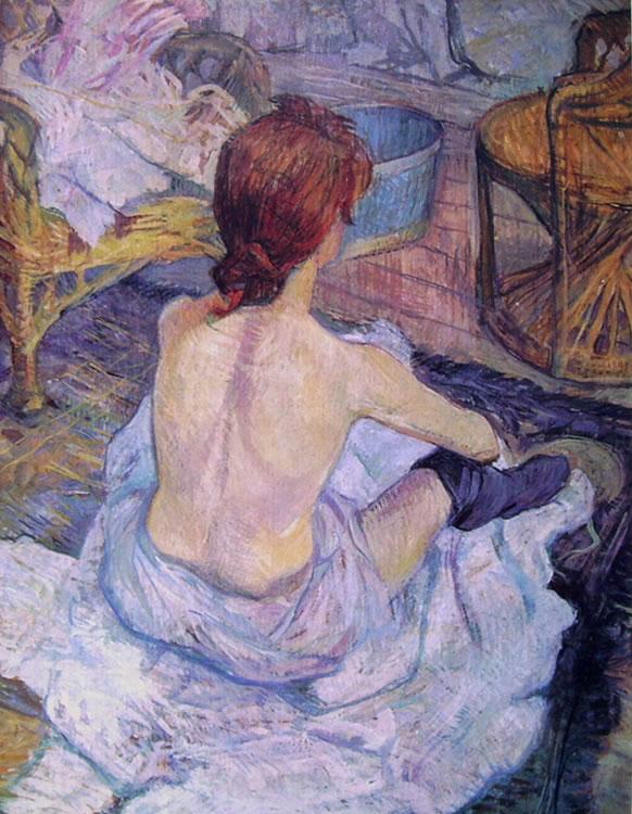 Toulouse-Lautrec: La toeletta