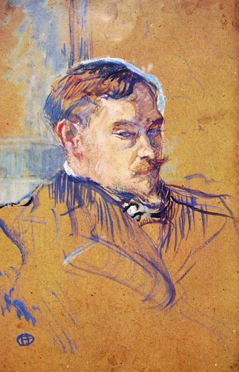 Toulouse-Lautrec: Lo scrittore Romain Coolus