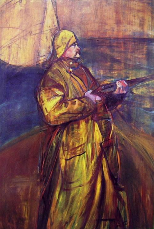 Toulouse-Lautrec: Maurice Joyant nella baia di Somme