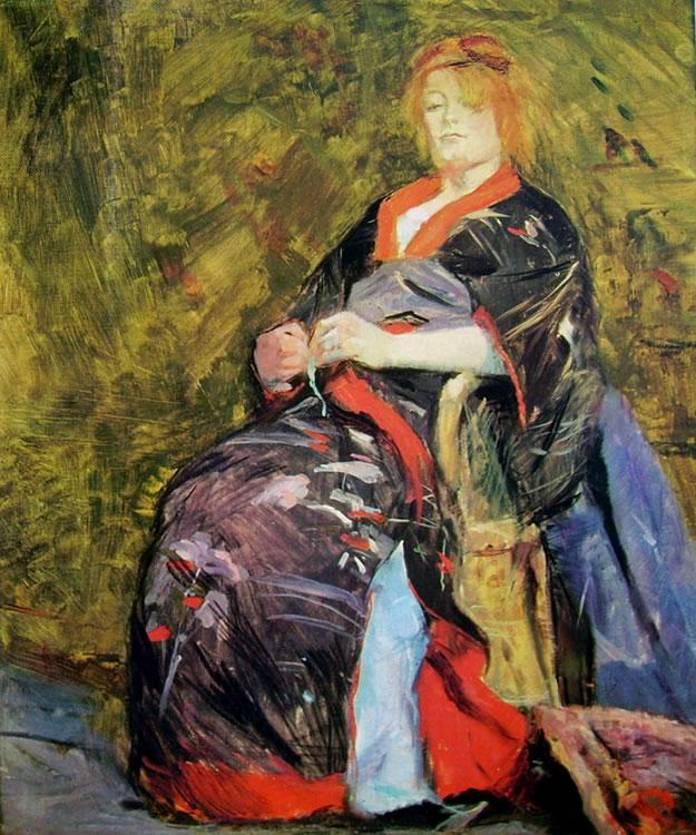 Toulouse-Lautrec: Ritratto di Lily Grenier