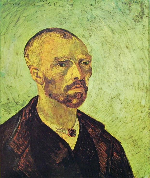Autoritratto di van Gogh del Settembre 1888