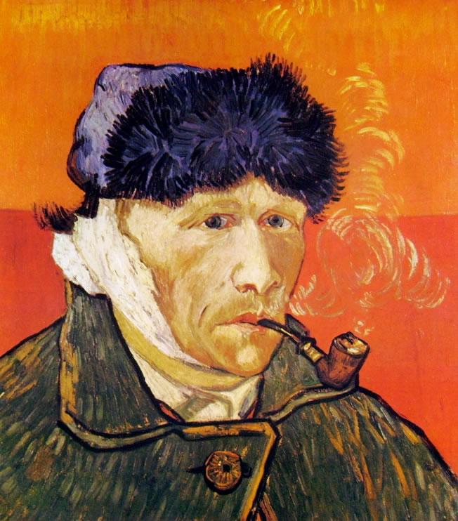Autoritratto del 1889 col capo bendato di Vincent van Gogh