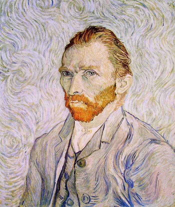 Autoritratto di Vincent van Gogh del Settembre 1889