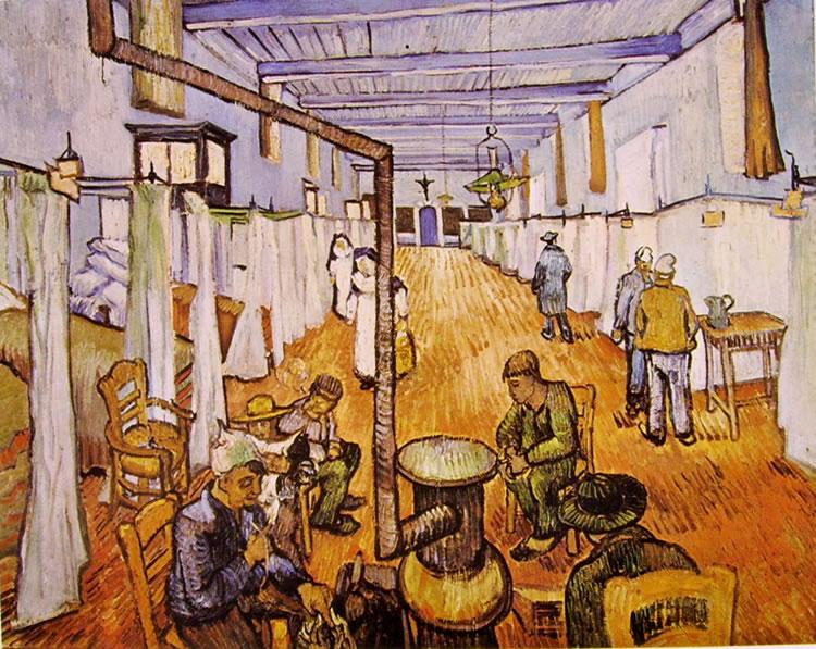 Vincent van Gogh:Corsia dell'ospedale di Arles