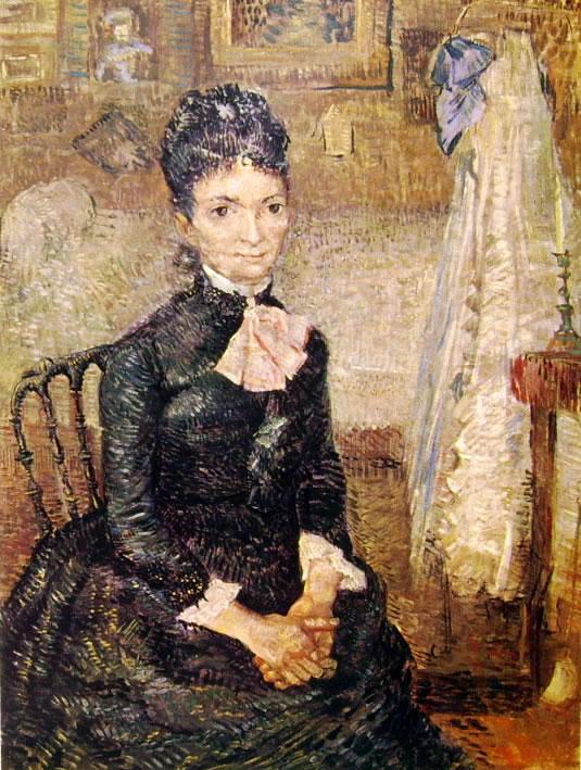 Vincent van Gogh:Donna presso una culla
