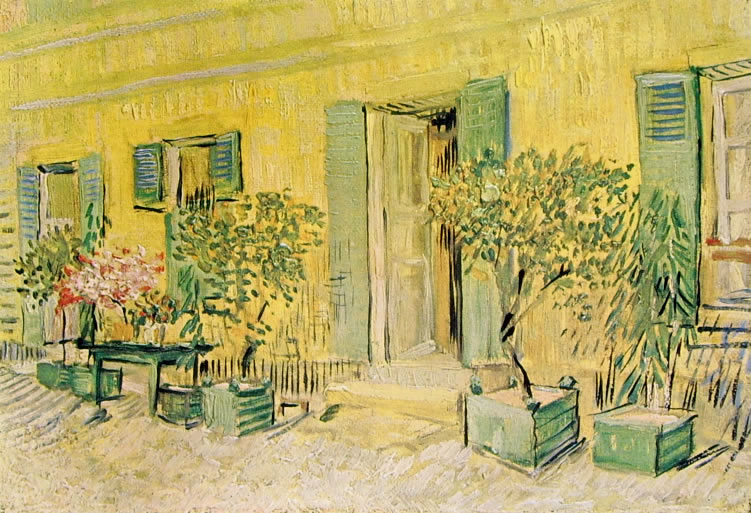 Vincent van Gogh: Ingresso di ristorante