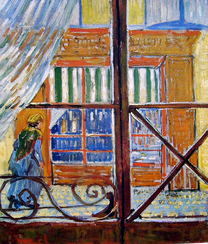 Vincent van Gogh:Ingresso in salumeria
