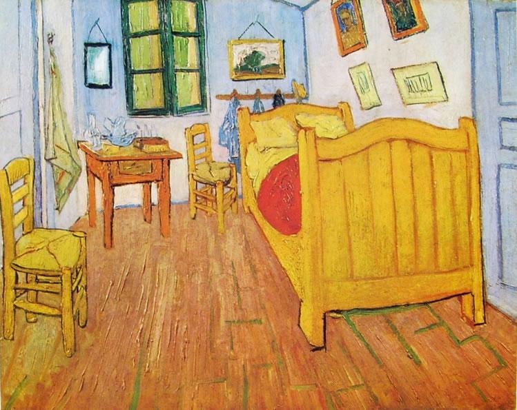 La camera di Vincent van Gogh ad Arles,