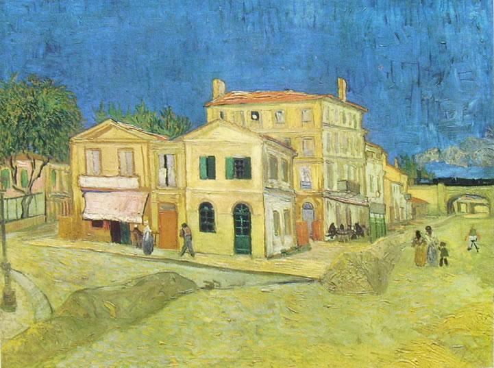 Vincent van Gogh:La casa di Vincent Van Gogh ad Arles