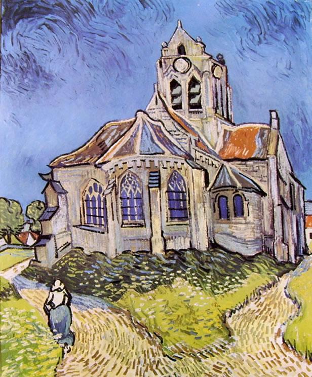 Vincent van Gogh:La chiesa di Auvers