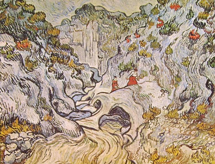 Vincent van Gogh:La Forra dei Peiroulets