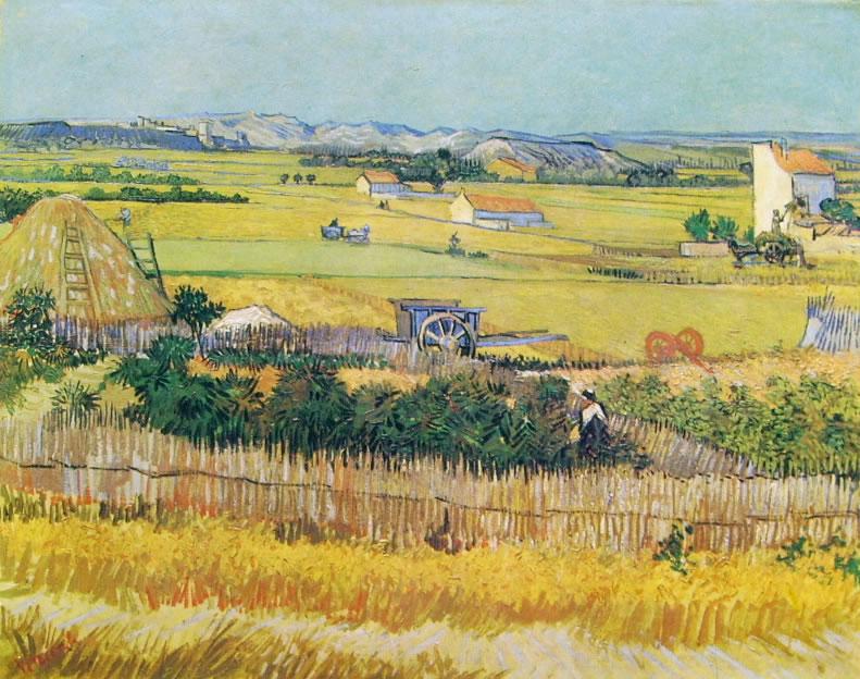 Vincent van Gogh: La piana della Crau