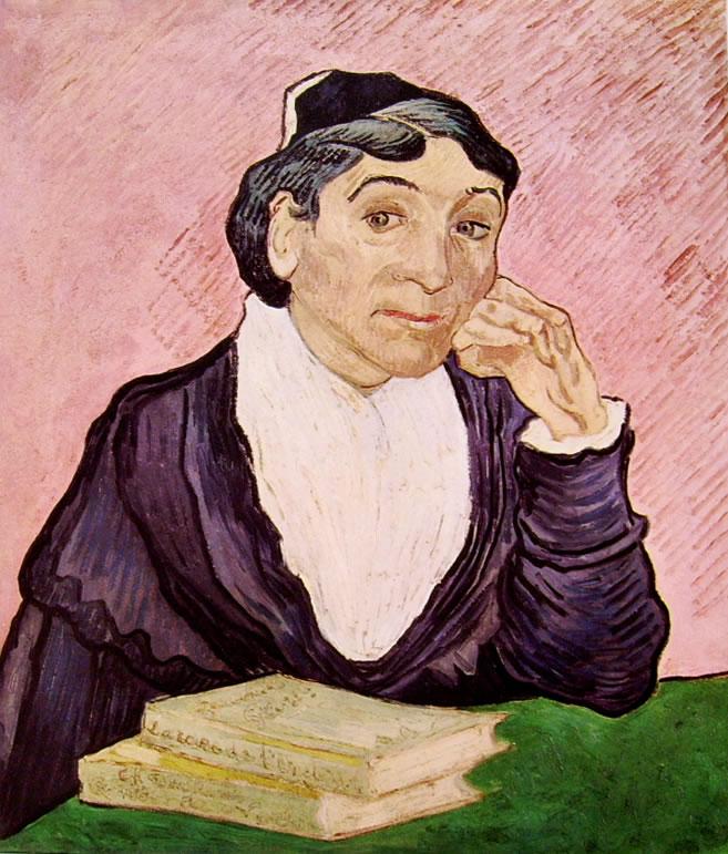 Vincent van Gogh:L'arlesiana (S. Paulo)