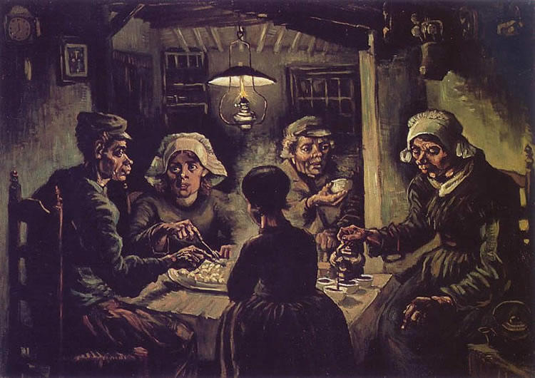 Vincent van Gogh:Mangiatori di patate