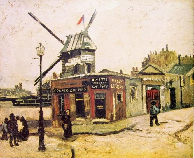 Vincent van Gogh:Il mulino Le Radet