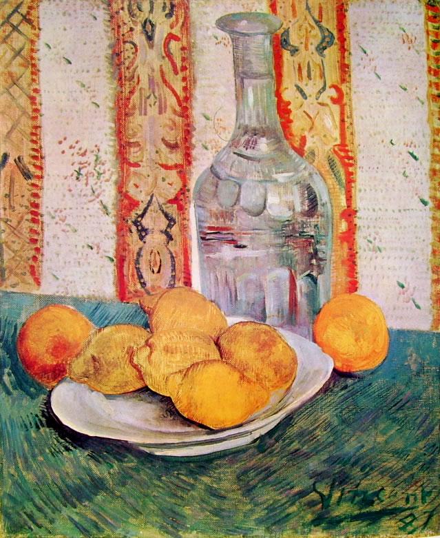 Vincent van Gogh:Natura morta con limoni