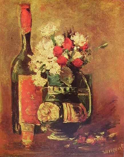 Vincent van Gogh:Natura morta con vaso di fiori,