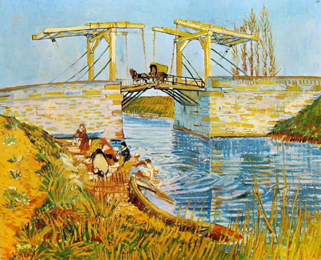Vincent van Gogh:Il ponte di Langlois