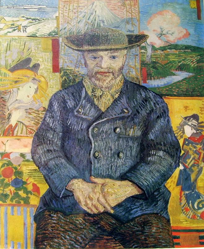 "Vincent van Gogh:Ritratto del ""Pere"" Tanguy"