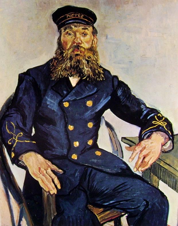 Vincent van Gogh:Ritratto del Procaccia Roulin