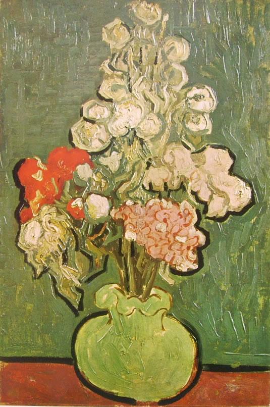 Vincent van Gogh:Vaso con malvarose