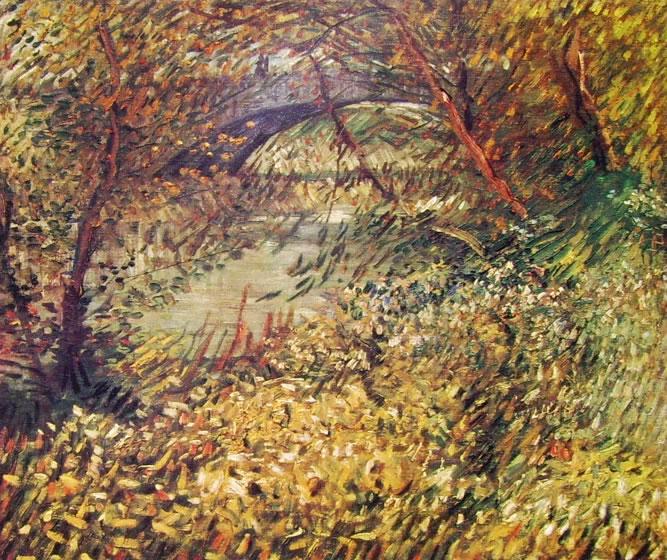 Vincent van Gogh:Vegetazione primaverile