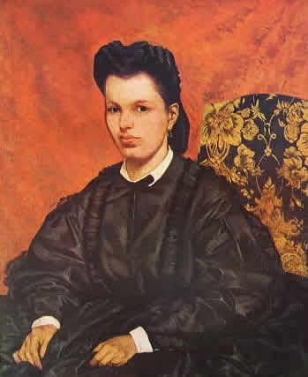 Fattori - Ritratto della prima moglie