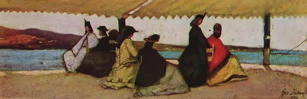Fattori - La rotonda di Palmieri