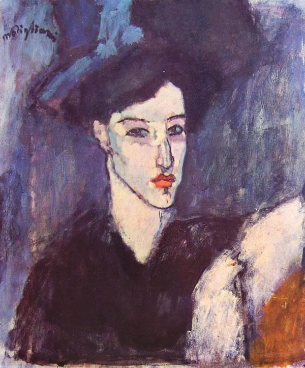 Amedeo Modigliani: Ritratto dell'Ebrea